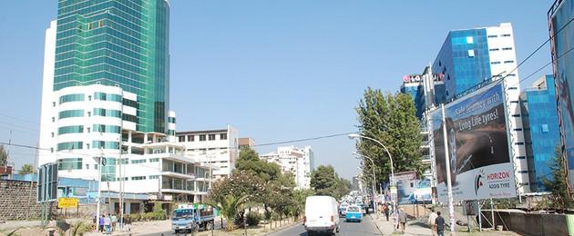 Addis Abeba - Stadt Leipzig