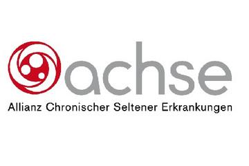 Bild wird vergrößert: Logo ACHSE (Allianz Chronischer Seltener Erkrankungen)