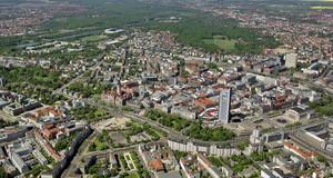 Leipzig Zentrum aus Südost