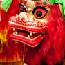 Drachenfigur zum Chinesischen Frühlingsfest 2012 in Leipzig