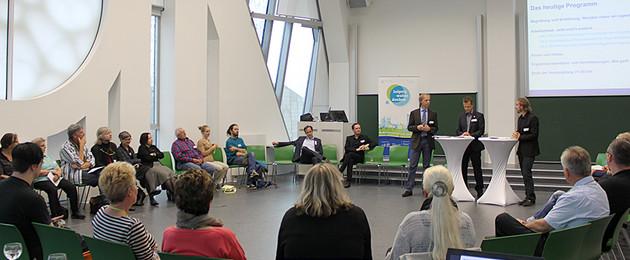 Diskussionsrunde zur Bürgerwerkstatt zum Finanzhaushalt 2015 / 2016 in Leipzig