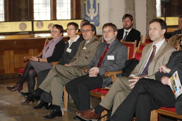 Zuhörer während der Vorträge zum Tag der Stadtgeschichte 2010
