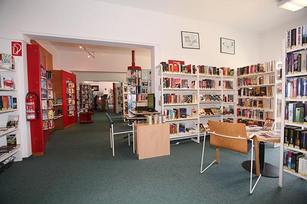 Bibliothek Böhlitz-Ehrenberg - Bereich Belletristik