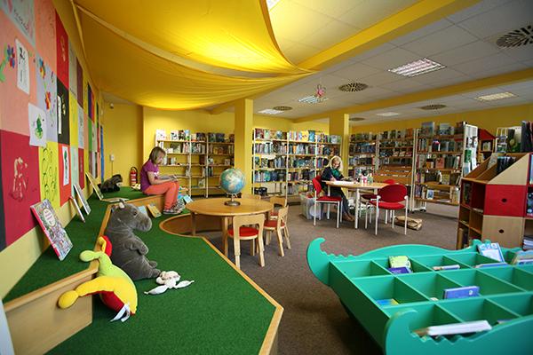 Bibliothek Grünau-Süd - Kinderbibliothek