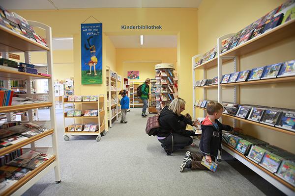 Bibliothek Grünau-Mitte - CDs und Hörbücher in der Kinderbibliothek