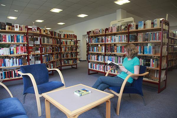 Bibliothek Südvorstadt - Bereich Belletristik