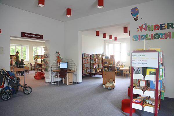 Bibliothek Südvorstadt - Blick in die Kinderbibliothek