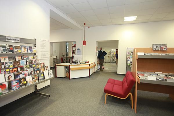 Bibliothek Südvorstadt - Multimediabereich