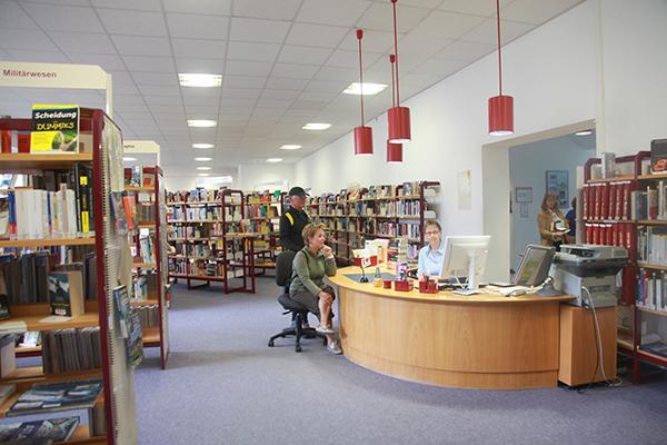 Bibliothek Südvorstadt -Bereich Sachliteratur