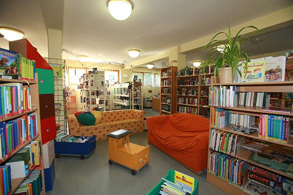 Bibliothek Wiederitzsch - Kinderbereich