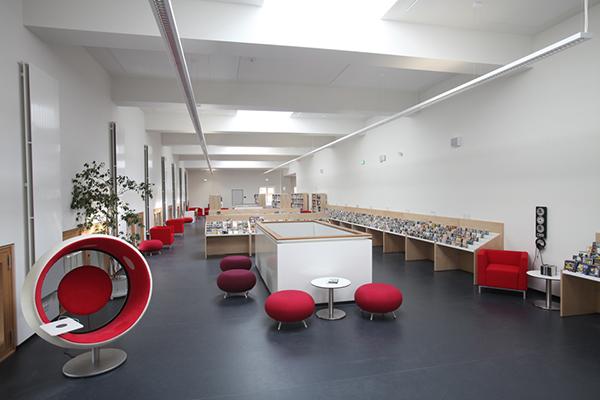 Musikbibliothek im 3. Obergeschoss