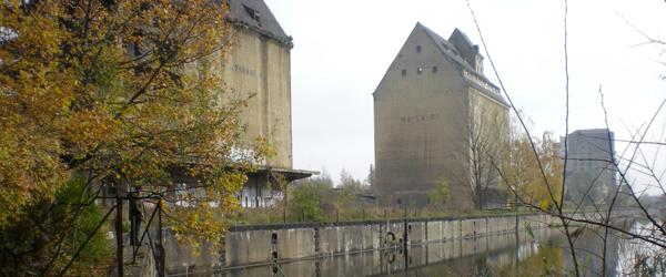 Speicherhaus am Lindenauer Hafen
