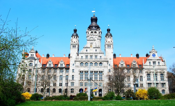 Leipzig S New Town Hall And Town House Stadt Leipzig